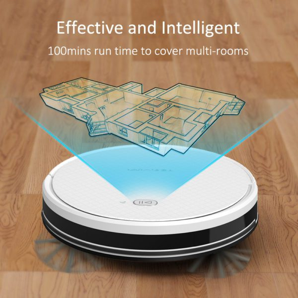 Tesvor X500 Pro Robot Vacuum Cleaner and Mop 1800Pa Strong Suction Self-Charging Wi-Fi Connected – Effective Intelligent