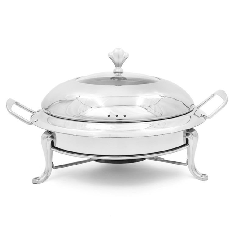 Soga Stainless Steel Round Buffet Chafing Dish